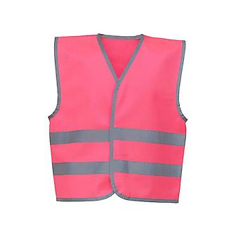 Yoko Boys & Girls Hi-Vis Reflective Border Kids Waistcoat