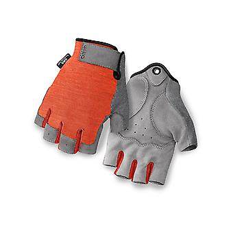 Giro Glowing Red 2016 Hoxton Fingerless Cycling Gloves