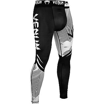 Venum No-Gi 2.0 MMA Compression Spats - Black/White