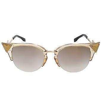 Fendi Iridia Cat Eye Sunglasses FF0041S 27L FQ 52