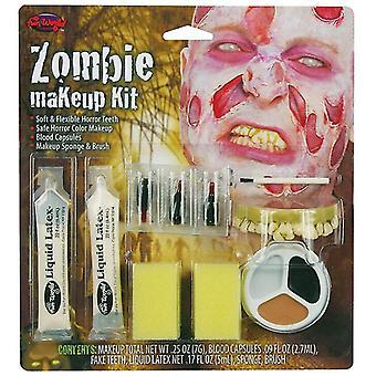 Zombie Make Up Kit Male.