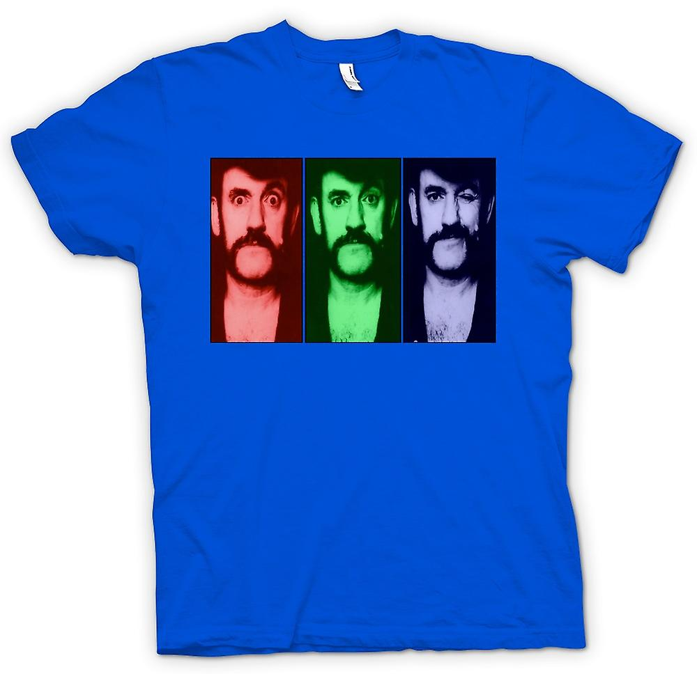 Mens T-shirt - Motorhead Lemmy - Pop Art