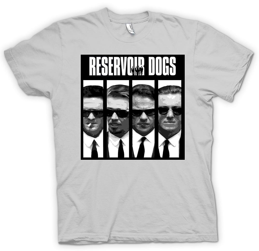 Palabras y Mens t-shirt - Reservoir Dogs - Collage