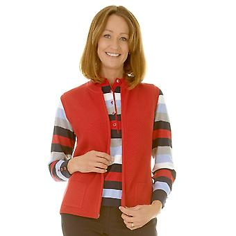 Rabe gilet 41 321570 rood