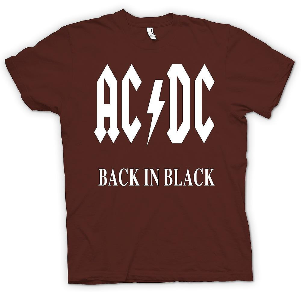 Herren T-shirt-AC/DC, Back In Black