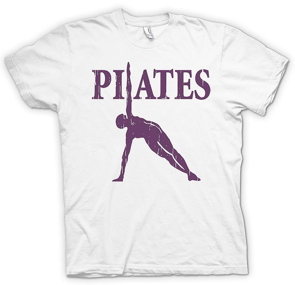 Mens T-shirt - Pilates - Core Fitness-Training
