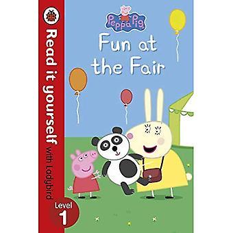 Peppa Pig: Fun à la foire - lisez-le vous-même avec la coccinelle: niveau 1