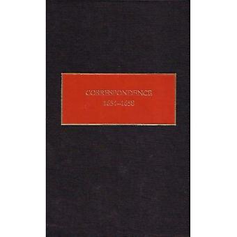 Correspondence, 1654-1658