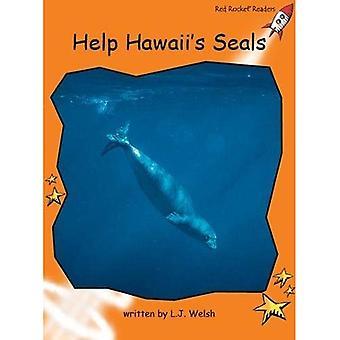 Help Hawaii's Seal (Red Rocket Readers)