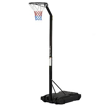 Portable Netball Post Professional Stand Hoop Adjustable 8ft 9ft 10ft JumpStar