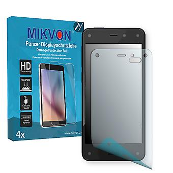 Amazon Fire Phone Screen Protector - Mikvon Armor Screen Protector (Retail Package with accessories)
