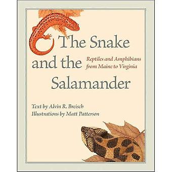 La serpiente y la Salamandra: Reptiles y anfibios desde Maine a Virginia