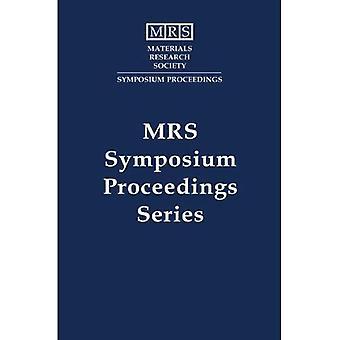 Compound Semiconductor Electronics and Photonics: Volume 421 (MRS Proceedings)