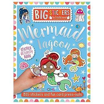Stora dekaler för små händer: Mermaid Lagoon (stora klistermärken för små händer)