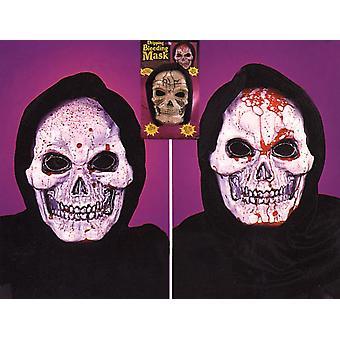 Skull Maske tropfende Blutungen für Halloween
