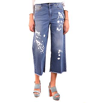 Rode Valentino Blue katoen Jeans