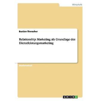 Relation Marketing als Grundlage des Dienstleistungsmarketing par Tinnacher & Bastian