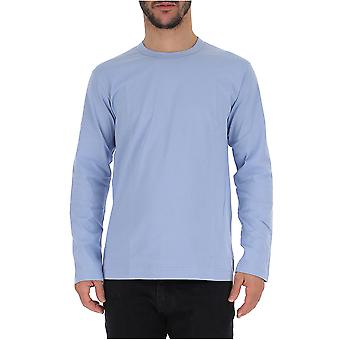 Comme Des Garçons Light Blue Cotton Sweater