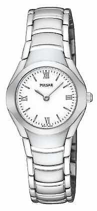 Pulsar Womens Stainless Steel Analogue Bracelet PEGE49X1 Watch