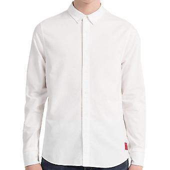 Calvin Klein Jeans menns Slim Oxford bomull skjorte