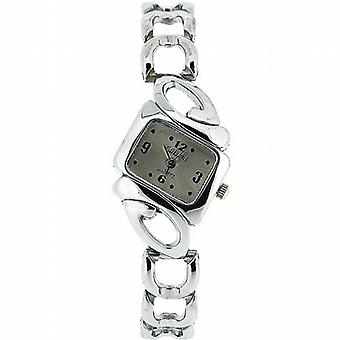 Olivia samling damer Silver Dial armband Strap Dress Watch COS01