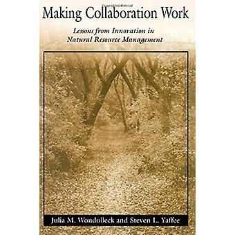 Making Collaboration Work - Lessons from Innovation in Natural Resourc