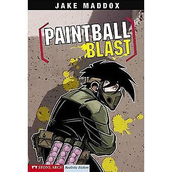Paintball Blast by Jake Maddox - Sean Tiffany - 9781598894172 Book