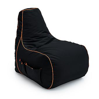 GAME OVER Eternal Fire (Orange) Bean Bag Gaming Chair