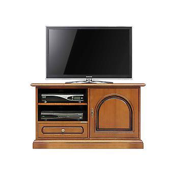 Wooden TV cabinet door and drawer