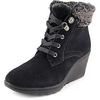 White Mountain Womens KIPPER Suede Closed Toe Ankle Fashion Boots