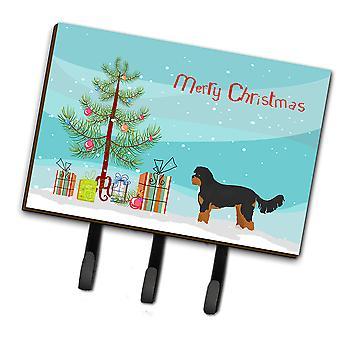 Black and Tan Cavapoo Christmas Tree Leash or Key Holder