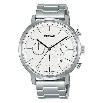 Pulsar classic Quartz Analog Man Watch with PT3933X1 Stainless Steel Bracelet