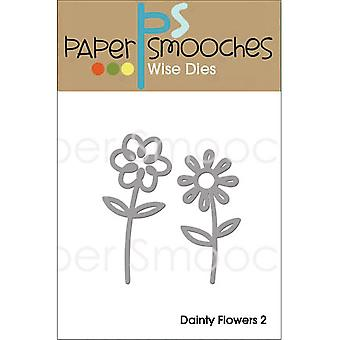 Paper Smooches Die-Dainty Flowers 2 NOD277