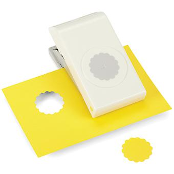 Nesting Paper Punch Scallop Circle 1.25