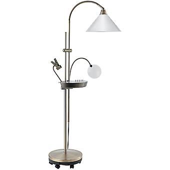 Ultimate Floorstanding Lamp Antique Brass U21098