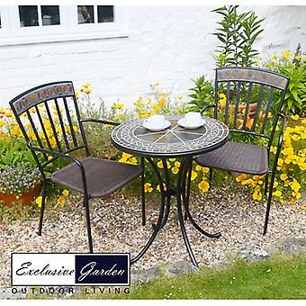 Europa Leisure Clandon 60cm Bistro Set with Kingston Chairs