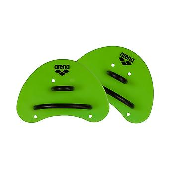 Arena-Elite Finger Paddle - Säure Lime/schwarz