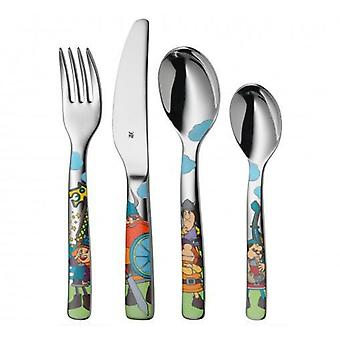 WMF Covered Child 4 Pieces Vicky the Viking (Casa , Cucina , Stoviglie , Posate)