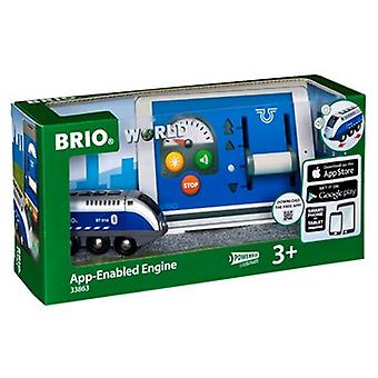BRIO App Enabled Remote Control Engine 33863