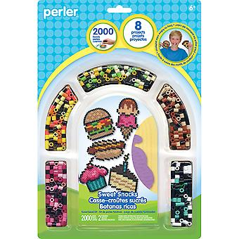 Perler Fused Bead Kit-Sweet Snacks 80-62988