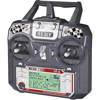 Reely HT-6 Handheld RC 2,4 GHz No. of channels: 6