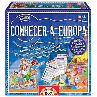 Educa Meet Europe (Portuguese) (Kids , Toys , Education , Science)