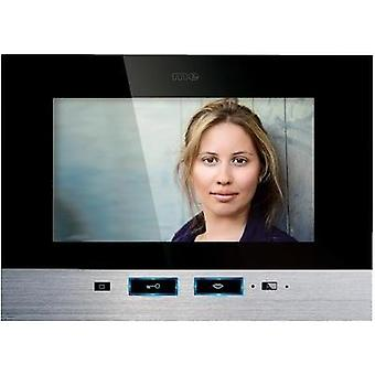 Video door intercom Corded Indoor panel m-e modern-electronics VDV 507 SS Detached Black, Stainless steel