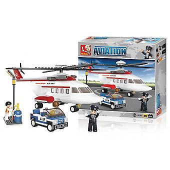 Sluban Building Blocks Aviation Series Helicopter