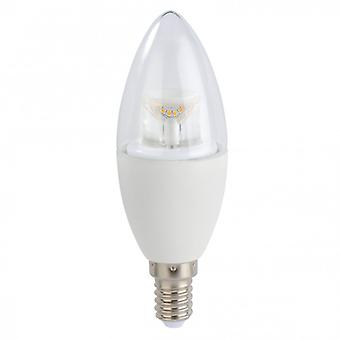 XAVAX LED bulb E14 7W HQ warm white Crown candles Dimmbar