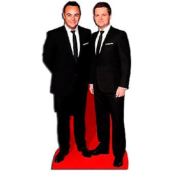 Ant & Dec cartulina recortable