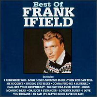 Frank Ifield - beste van Frank Ifield [CD] USA import