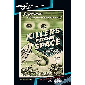 Mordere fra rummet [DVD] USA importerer