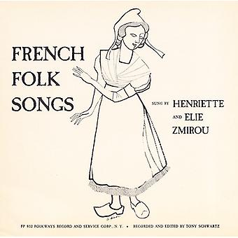 Henriette Zmirou & Elie - French Folk Songs [CD] USA import