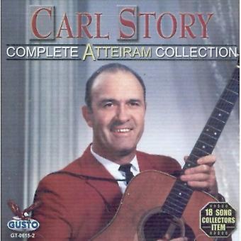 Carl Story - Carl Story: Komplet Atteiram samling [CD] USA import